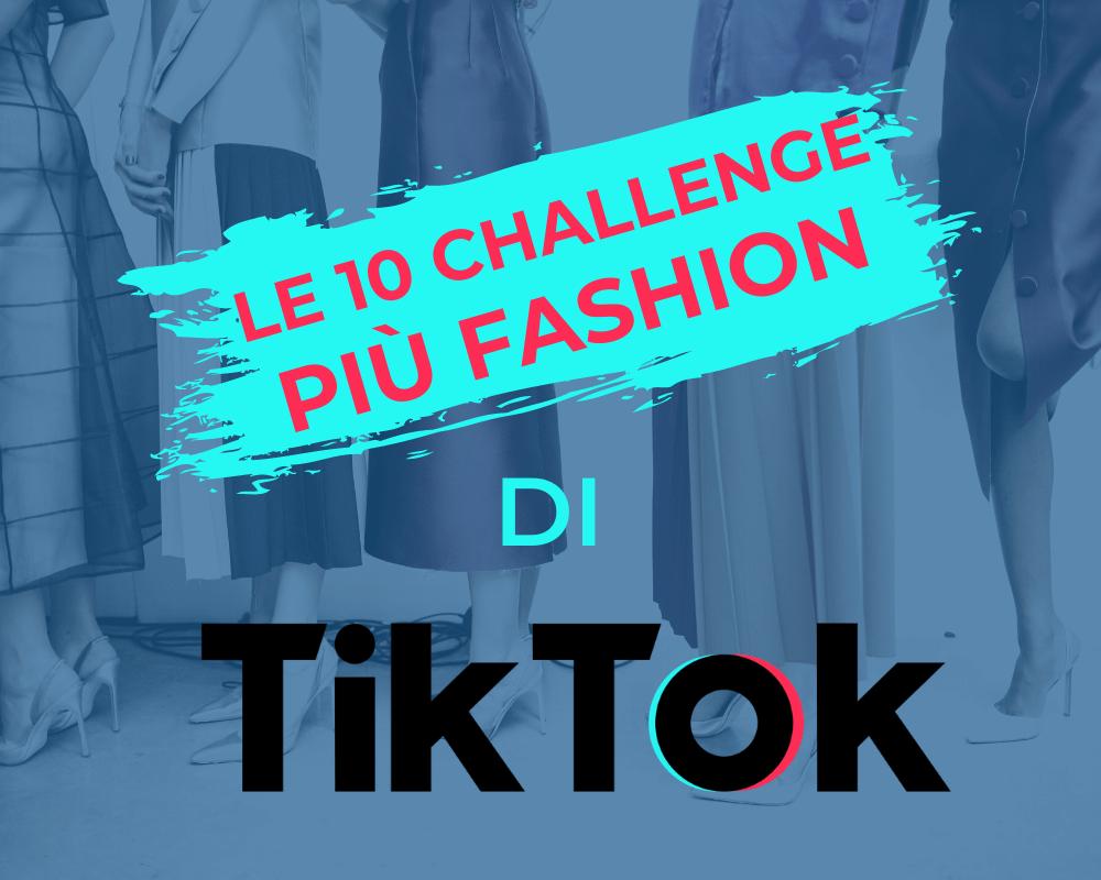challenge fashion tiktok